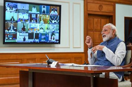 PM Modi to Interact with Floor Leaders of Political Parties on April 8 - Sakshi