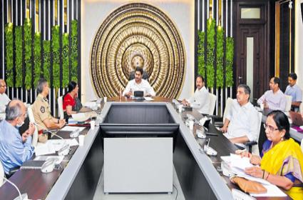 CM YS Jagan High level Review Meeting With Officials On Covid-19 Prevention - Sakshi