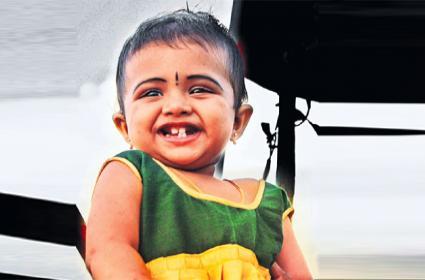 Kerala Girl Child Anvitha Saved From Eye Cancer in LV Prasad Hospital - Sakshi