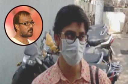 Artist Sai Sudha files Cheating Case Against Shyam K Naidu - Sakshi