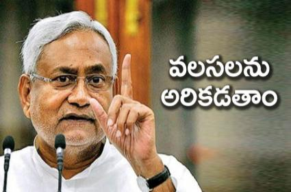 Nitish Kumar Says Government Resolves To Provide Employment to Everyone Within State - Sakshi