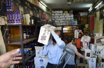 Punjab Government Covid Cess On Liquor Amid Lockdown - Sakshi