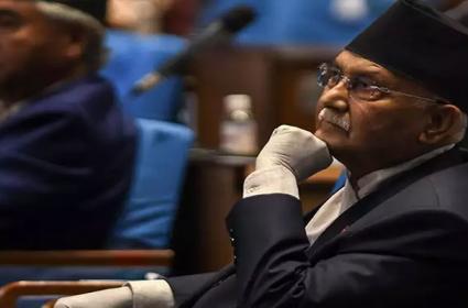 Nepal Tables Amendment For New Map - Sakshi