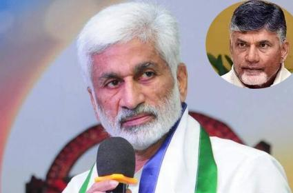 Vijay Sai reddy Fires on Chandrababu - Sakshi