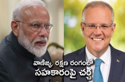 PM Modi Says India Australia Relations Have Deepened - Sakshi