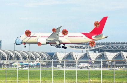 Adani group seeks more time to take over 3 airports - Sakshi
