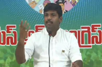 YSRCP MLA Gudivada Amarnath Comments On Chandrababu - Sakshi