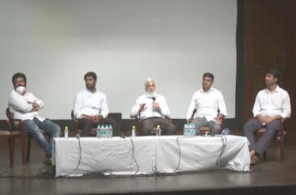 YSRCP MPs Press Meet After Meeting With Lok Sabha Speaker - Sakshi