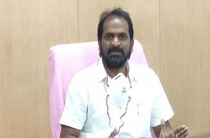 Minister Srinivas Goud Serious on Opposition For Talking Section 8 - Sakshi