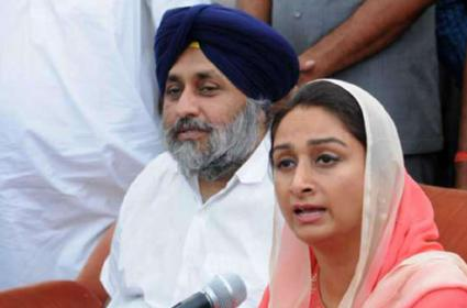 Badal Terms Harsimrat Kaurs Resignation As Atomic Bomb - Sakshi
