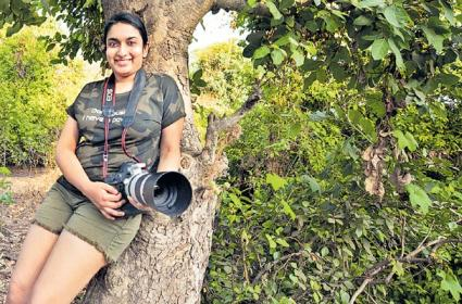 Aishwarya Is The First Indian Woman To Win In Wildlife Photography - Sakshi