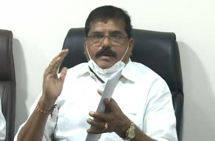 Minister Botsa Satyanarayana Comments Over Gitam University Land Grab - Sakshi