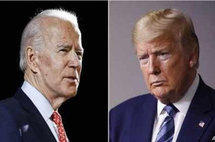 Donald Trump slams media for blocking balleged graft cases against Joe Biden - Sakshi