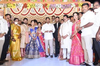 CM YS Jagan Mohan Reddy to Attend MLA Karanam Dharmasri Daughter Wedding - Sakshi