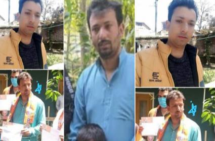 Militants Shoot Three BJP Leaders In Kashmir - Sakshi