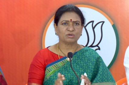 GHMC Elections 2020: BJP Leader DK Aruna Comments On KCR - Sakshi