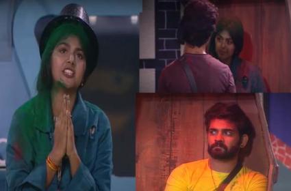 Bigg Boss 4 Telugu: Monal Gajjar Bigg Twist In 12th Week Nominations - Sakshi