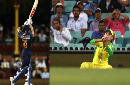 Team India Vs Aus:Zampa Drops Kohli On 1 Run At Fine Leg - Sakshi
