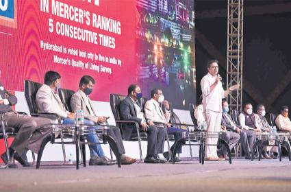 GHMC Elections 2020: KTR Says Hyderabad Needs Dynamic Leadership - Sakshi