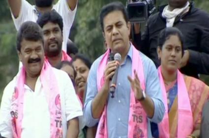 GHMC Elections 2020: KTR Slams BJP - Sakshi