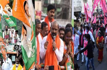 GHMC Elections 2020: Election Campaign Last Day - Sakshi
