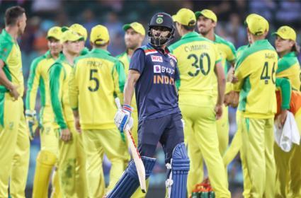 Australia Wins Odi Series Against Team India - Sakshi