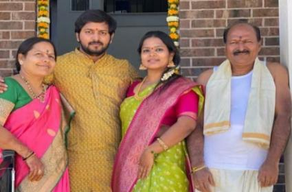 Three Persons Deceased Road Accident In Texas - Sakshi