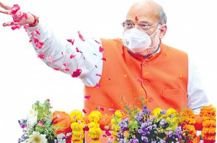 GHMC Elections 2020: Amit Shah Hopes To Clinch Mayor Post - Sakshi