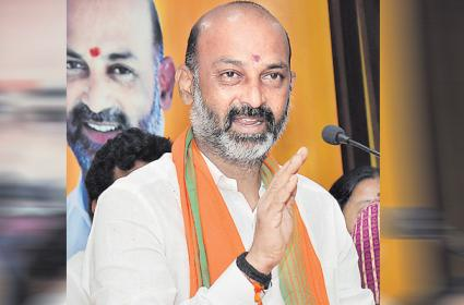GHMC Elections 2020: TRS Downfall Starts From Here Says Bandi Sanjay - Sakshi