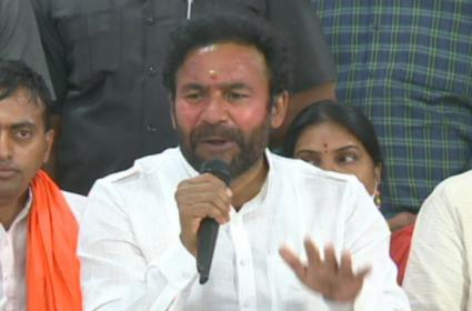 Kishan Reddy Comments On GHMCElections Resu;ts  - Sakshi