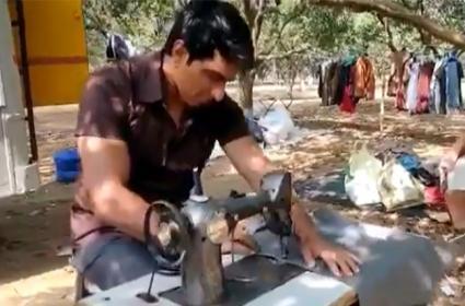 Sonu Sood Opens Tailor Shop In Viral Video - Sakshi