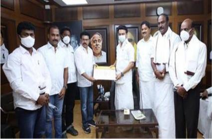 Rajinikanth Makkal Mandram Leaders Joined In DMK Party - Sakshi