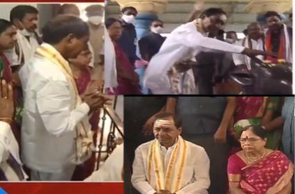CM KCR visits Kaleshwaram and Barrage also - Sakshi