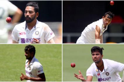 Team India Debut Cricketers Australia Tour Siraj To Washington Sundar - Sakshi