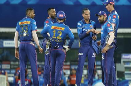 IPL 2021: Rohit Sharmas First Over In IPL After 7 Years - Sakshi