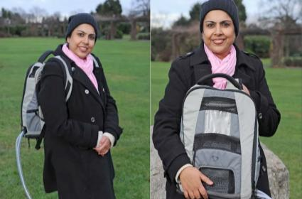 Meet Selwa Hussain The Woman Who Carries Her Heart In A Bag - Sakshi