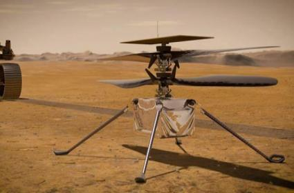 NASA's Ingenuity Helicopter Takes Flight On Mars - Sakshi
