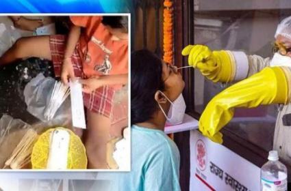 Corona Swab Stick Unhygienic Conditions In Mumbai - Sakshi