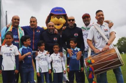 WTC Final: Indians Fans Cheering Up Team India With Bharath Army Viral - Sakshi