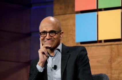 Microsoft CEO Satya Nadella named as chairman - Sakshi