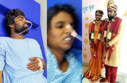 New Couple Attempt To End Life In Nizamabad District - Sakshi