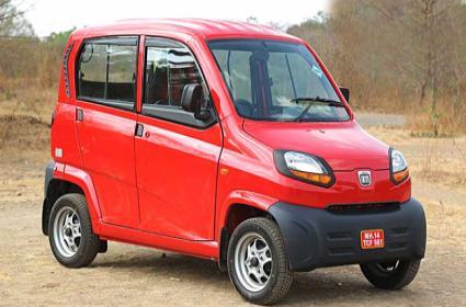 Bajaj Auto Will Introduce Its Qute In Hyderabad Through Uber - Sakshi