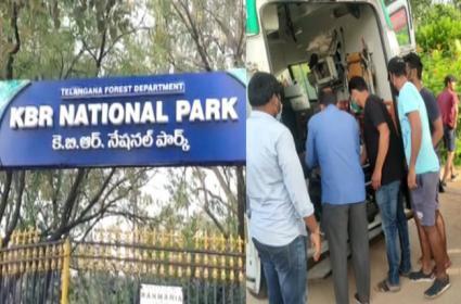 Head Constable Suddenly Deceased At KBR Park Hyderabad - Sakshi