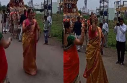 Sister In Law Dances On Famous Bollywood Song At Brother In Law Wedding - Sakshi