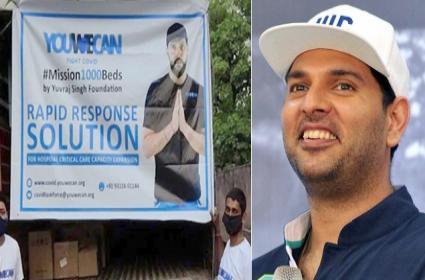 Yuvraj Singh Help For 120 ICU Beds In Nizamabad - Sakshi