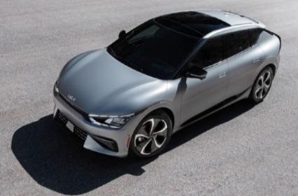 Kia Launches 1st All Electric EV6 Sedan Car - Sakshi