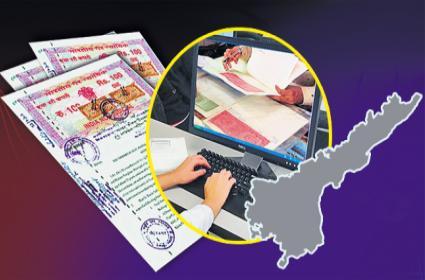 Radical changes in Andhra Pradesh registrations department - Sakshi