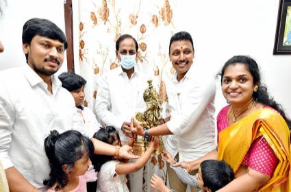 CM KCR Visit Haliya Nagarjuna Sagar, Photo Highlights - Sakshi