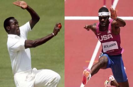 Former Cricketer Son Bags Silver Medal 400m Hurdles Event Tokyo Olympics - Sakshi