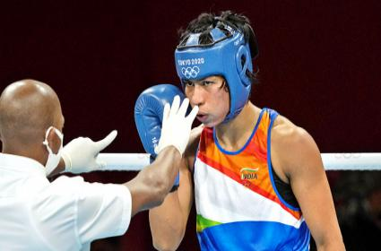 Tokyo Olympics: India Proud Of You Lovlina For Bronze Wishes Pour In - Sakshi